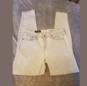 J.Crew Toothpick Light Wash Ankle Jeans Size 29